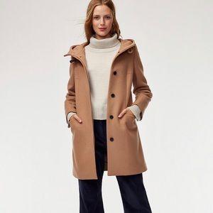 Aritzia Babaton Pearce Wool Coat in tailor tan